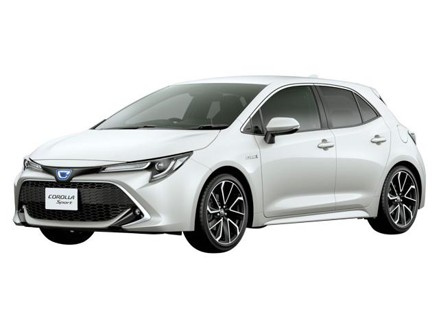トヨタ カローラスポーツ 2018年6月〜モデル