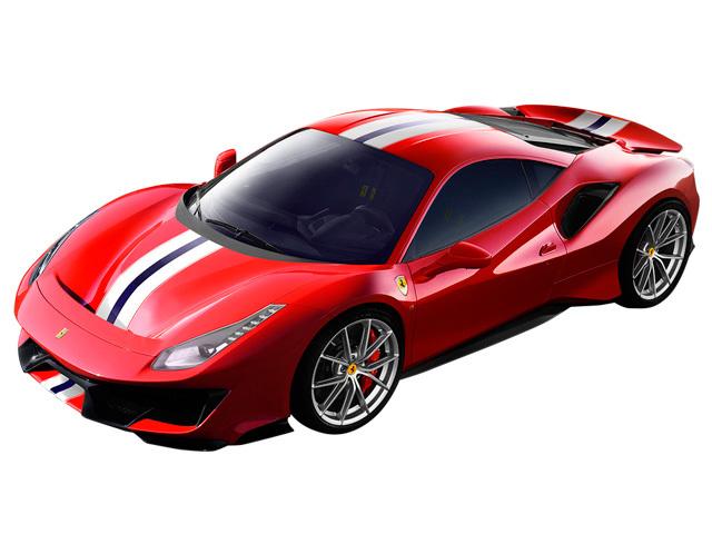 フェラーリ 488ピスタ 新型・現行モデル