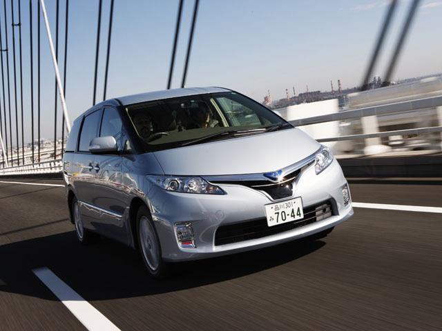 トヨタ エスティマハイブリッド 2009年12月〜モデル