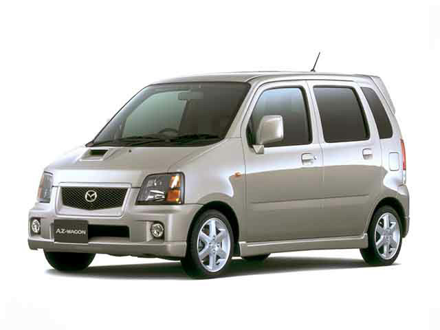 マツダ AZ-ワゴン 2002年4月〜モデル