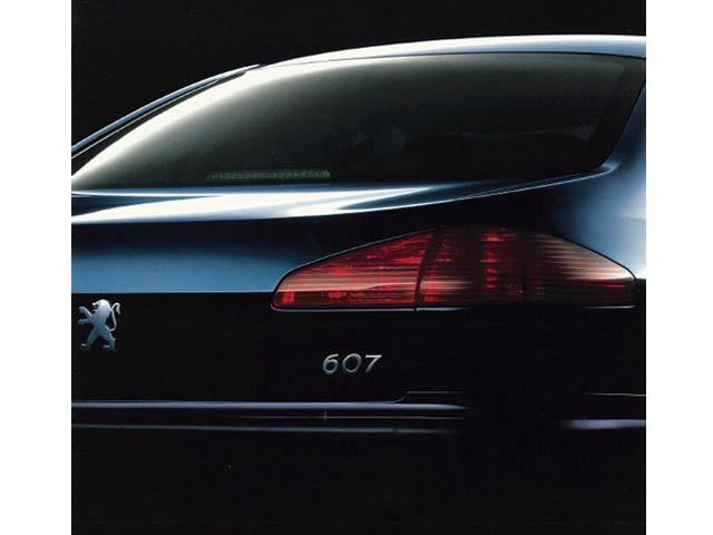 プジョー 607 2004年8月〜モデル