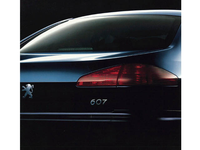 プジョー 607 新型・現行モデル