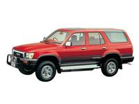 トヨタ ハイラックスサーフ 1990年8月〜モデルのカタログ画像