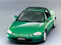 ホンダ CR-Xデルソル 1992年3月〜モデルのカタログ画像