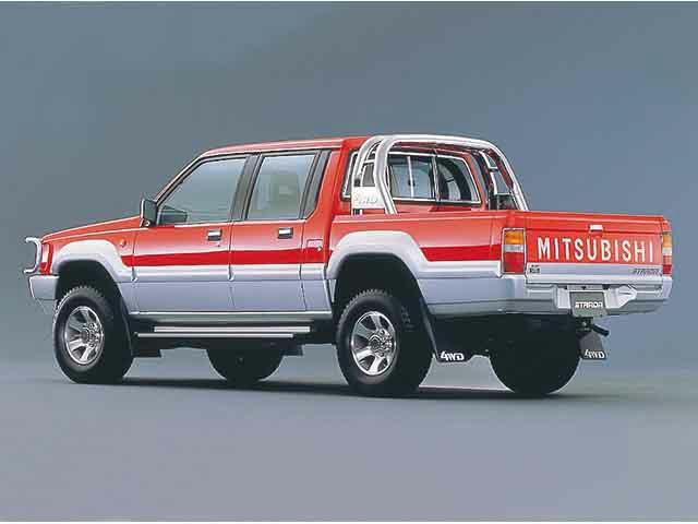 三菱 ストラーダ 1991年5月〜モデル