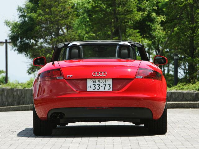 アウディ TTロードスター 2009年8月〜モデル