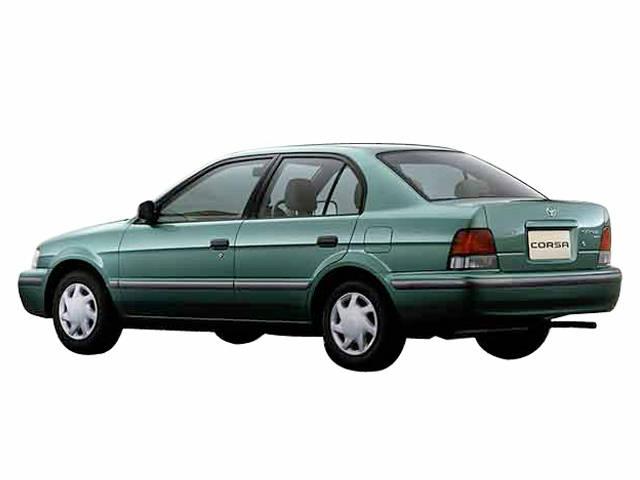 トヨタ コルサセダン 1997年12月〜モデル