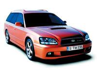 スバル レガシィツーリングワゴン 2001年5月〜モデルのカタログ画像