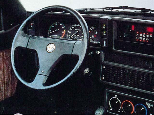 アルファ ロメオ アルファ75 新型モデル