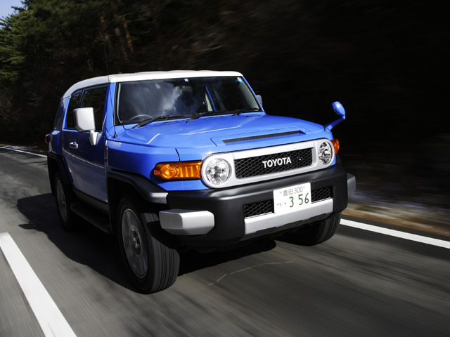 トヨタ FJクルーザー 2014年7月〜モデル