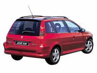プジョー 206SW 2002年10月〜モデルのカタログ画像