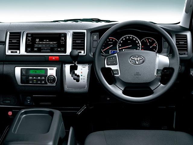 トヨタ ハイエースバン 新型・現行モデル