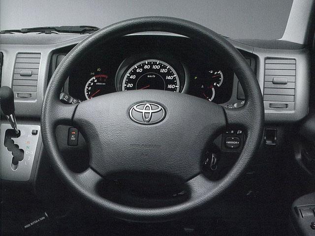 トヨタ ハイエースバン 2008年9月〜モデル