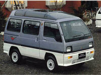 三菱 ミニキャブブラボー 1989年1月〜モデルのカタログ画像