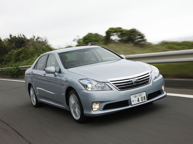 トヨタ クラウンハイブリッド 2010年2月〜モデル
