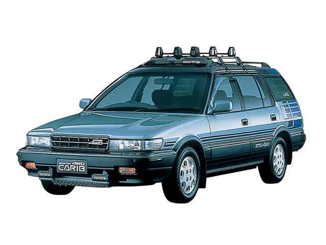 トヨタ スプリンターカリブ 1988年2月〜モデル