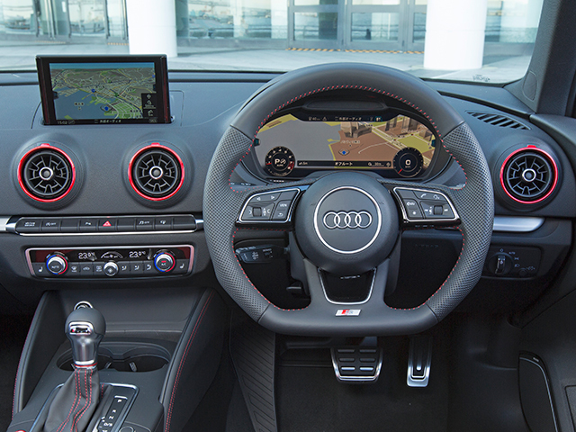 アウディ S3スポーツバック 新型・現行モデル