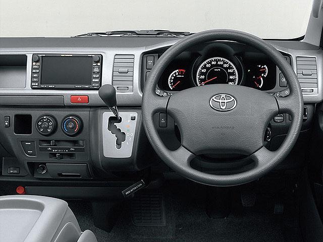 トヨタ ハイエース 2007年8月〜モデル