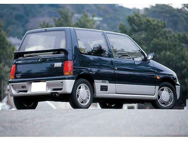 スズキ アルトワークス 1991年9月〜モデル