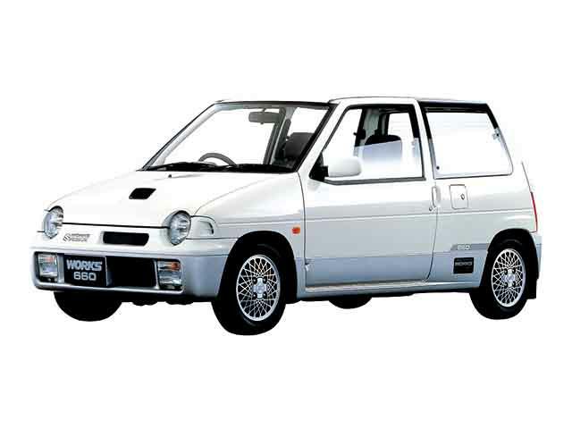 スズキ アルトワークス 1990年2月〜モデル