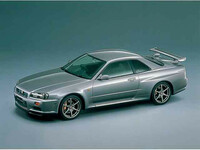 日産 スカイラインGT-R 1999年1月〜モデルのカタログ画像