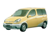 トヨタ ファンカーゴ 2000年8月〜モデルのカタログ画像