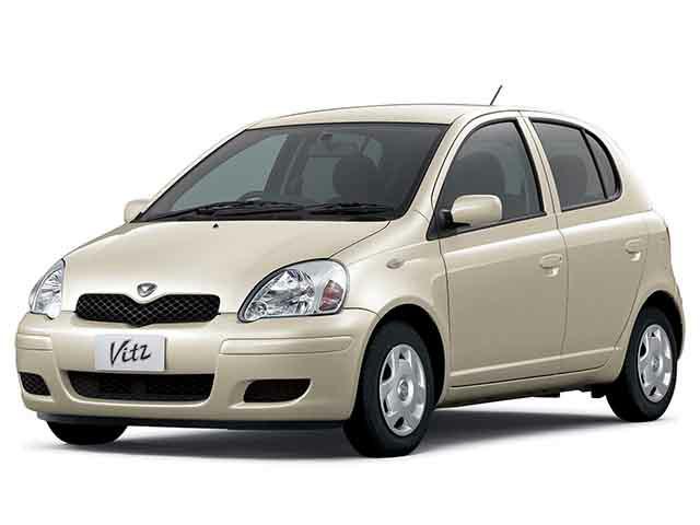 トヨタ ヴィッツ 2003年8月〜モデル