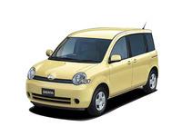 トヨタ シエンタ 2005年8月〜モデルのカタログ画像