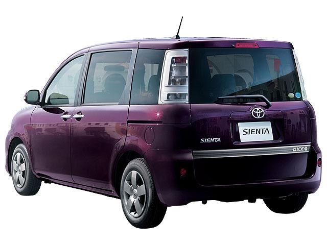 トヨタ シエンタ 2014年4月〜モデル