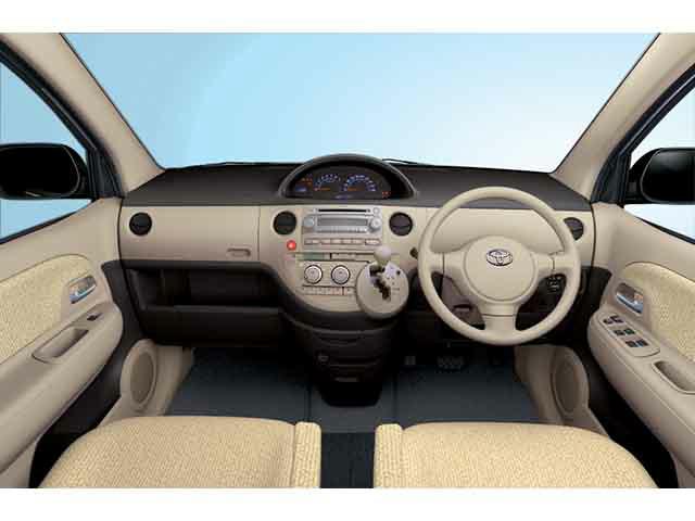 トヨタ シエンタ 2003年9月〜モデル
