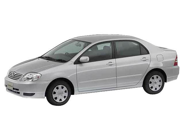 トヨタ カローラ 2002年9月〜モデル