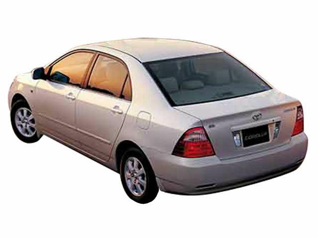 トヨタ カローラ 2004年4月〜モデル
