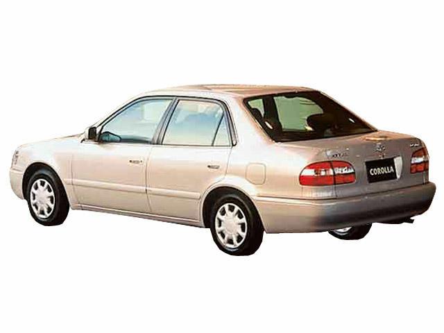 トヨタ カローラ 1998年4月〜モデル