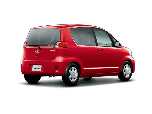 トヨタ ポルテ 2004年7月〜モデル