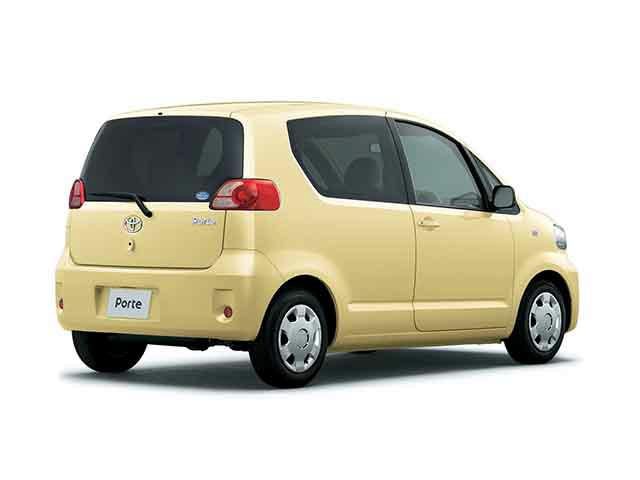 トヨタ ポルテ 2005年12月〜モデル