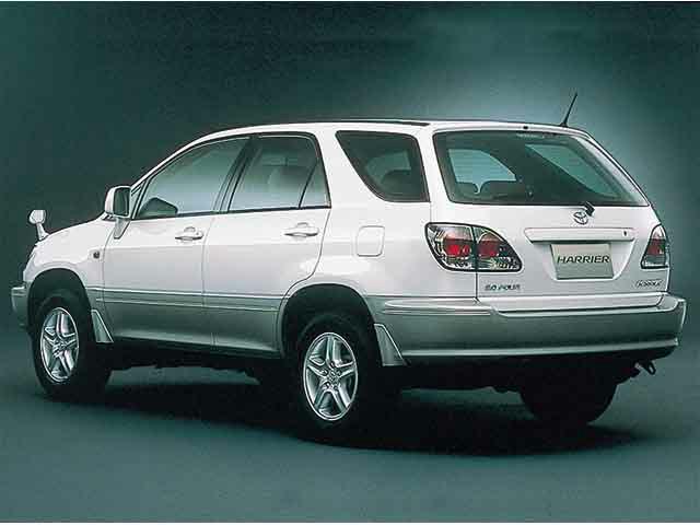 トヨタ ハリアー 2000年11月〜モデル