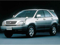 トヨタ ハリアー 1997年12月〜モデルのカタログ画像