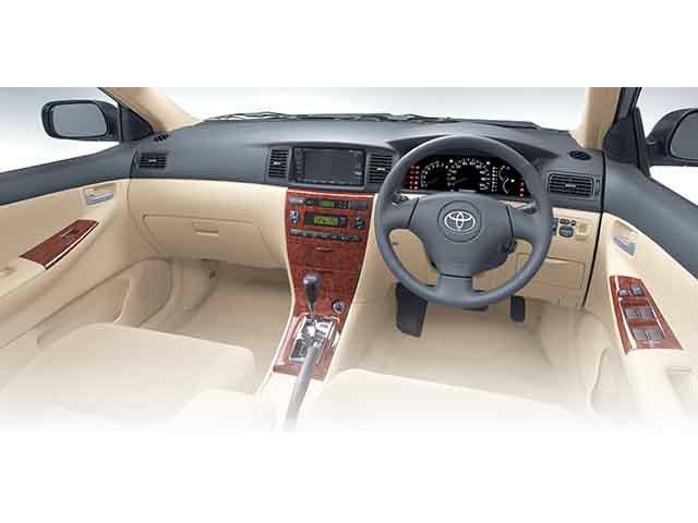 トヨタ アレックス 2002年9月〜モデル