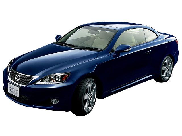 レクサス ISコンバーチブル 新型モデル