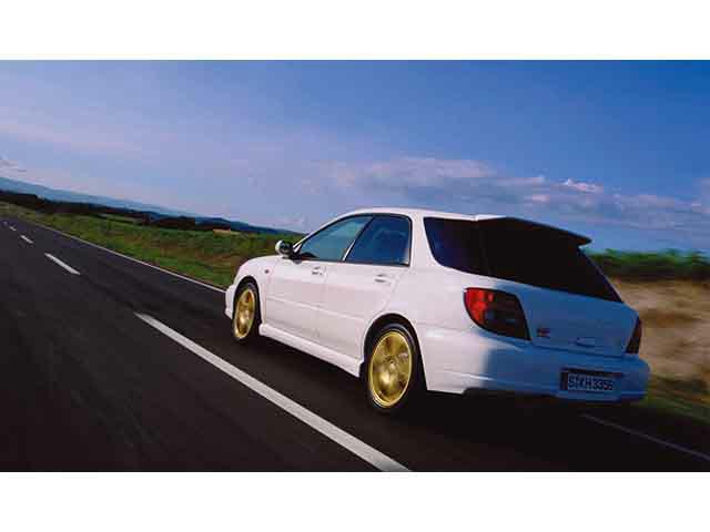 スバル インプレッサスポーツワゴンSTI 2000年10月〜モデル
