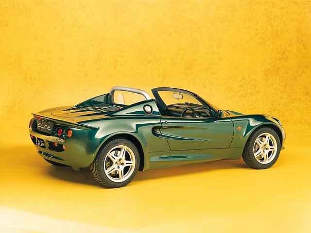 ロータス エリーゼ 1996年1月〜モデル