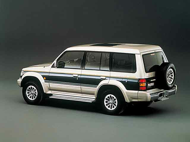 三菱 パジェロ 1996年5月〜モデル