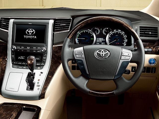 トヨタ アルファードハイブリッド 2014年4月〜モデル
