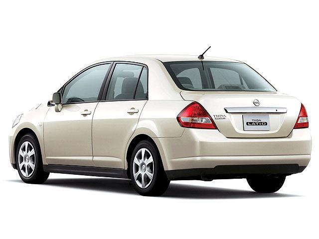 日産 ティーダラティオ 2008年1月〜モデル