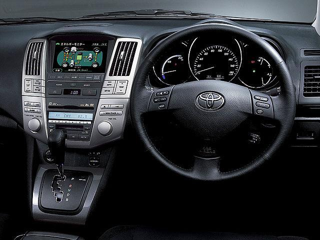 トヨタ ハリアーハイブリッド 2008年9月〜モデル