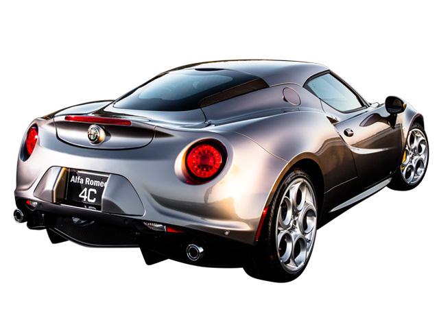 アルファ ロメオ 4C 新型・現行モデル