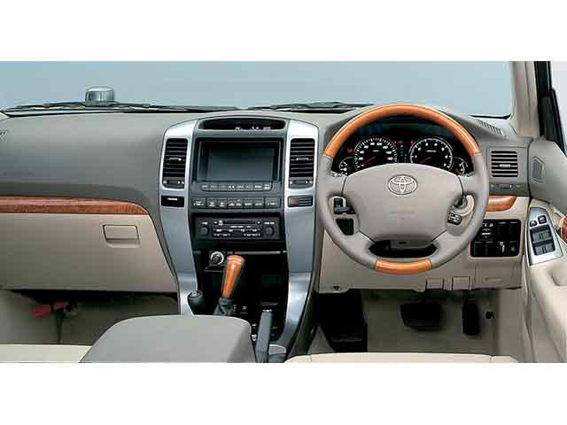 トヨタ ランドクルーザープラド 2002年10月〜モデル