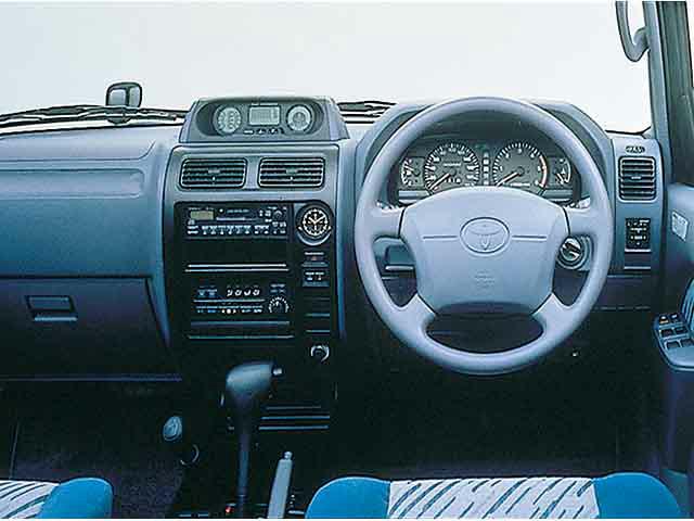 トヨタ ランドクルーザープラド 1998年1月〜モデル