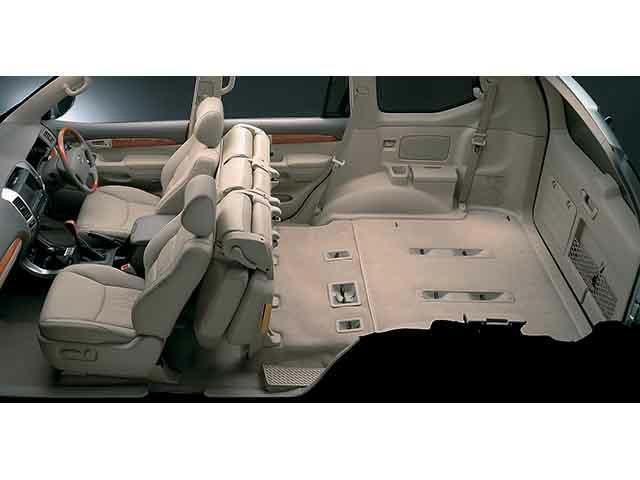 トヨタ ランドクルーザープラド 2004年8月〜モデル