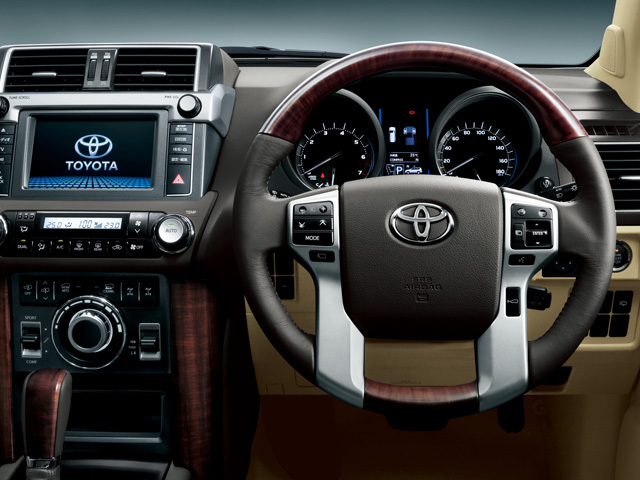 トヨタ ランドクルーザープラド 2013年9月〜モデル